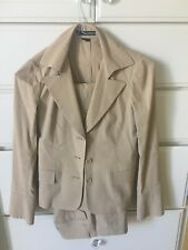 Theory Pant Suit Camel Colored Size 2