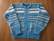 Norlfender Sportswear Women's Size M? Blue Vintage Cardigan Made in Norway