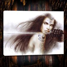 Luis Royo, girl, warrior, swords,Home Decor Oil Painting prints Art Print Canvas