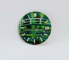 Bridge In Garden Custom Watch Dial w/ date- fit for Seiko NH35 7S36 4R15 NE15