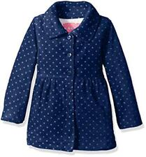 Wippette Girls' Printed Fleece JKT, Navy, 4