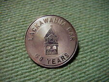 LACKAWANNA BAR 50 Years 1890 - 1940 14K GOLD PIN  3.5 grams NOT SCRAP
