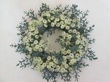 Dekokranz Blütenkranz 20cm Tischkranz Künstliche Kunst Blumen Kunst Pflanzen