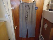 "Mens / Boys Croft & Barrow "" NWT "" Size S Gray Pajama / Lounge Pants"