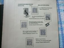 KGV Stamps:  Variety Used  -  Must Have  (t412)