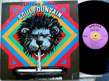 JAZZ LP: CLIFFORD JORDAN Soul Fountain VORTEX 2010 stereo 1970 original VG++