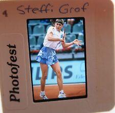 STEFFI GRAF US OPEN FRENCH Wimbledon Australian 22 MAJORS HOF ORIGINAL SLIDE 2