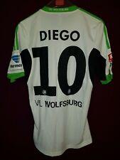 original matchworn Spielertrikot VfL Wolfsburg Diego 10 - Gr. S Brazil