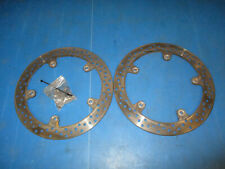 BMW F800ST F800S F800GT K71 2006 - 2013 ABS BREMBO FRONT BRAKE DISCS & BOLTS
