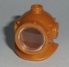 HEADGEAR Lego Underwater Deep Sea Diver Helmet NEW Pearl Gold 8833