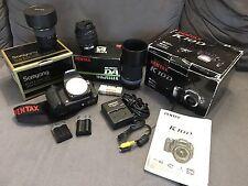 Pack Reflex Pentax K10D + 3 objectifs