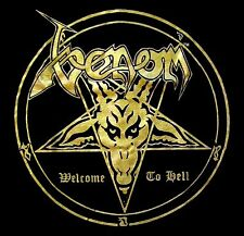 VENOM cd cvr WELCOME TO HELL Official SHIRT LARGE new