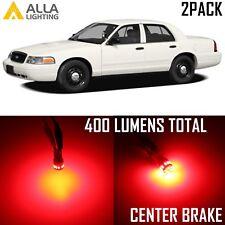 Alla Lighting 3rd/High Brake Stop Light 912 Pure Red LED Bulb for Ford,Marker 2x