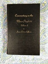 Commentary on the Minor Prophets Volume 1 One ~ SIGNED by James Burton Coffman