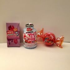 Num Noms Lot of 3 ~ Mystery Makeup, Snackables &  Party Hair Series 1!