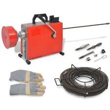 vidaXL Rohrreinigungsmaschine Rohrreinigungsgerät 250 W 15 m x 16 mm/ 4,5mx9,5mm