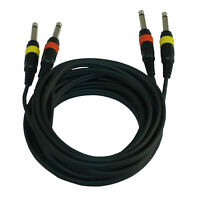 Peavey Pv-1 Bg Black Coloured Guitar Cable With Rubberized Coating 3010520 New