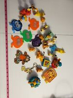 Vintage Miscellaneous Garfield Toy Lot...Candle, Bike Reflectors, Key Chain