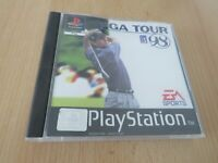 SONY PLAYSTATION 1 PS1 GAME PGA TOUR 98 PAL