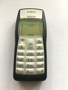 NOKIA 1100 GOOD CONDITION (UNLOCKED) MOBILE PHONE, MADE IN FINLAND VERY RARE