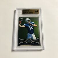 2012 Topps Chrome Andrew Luck ROOKIE RC #1 BGS 9.5 GEM MINT