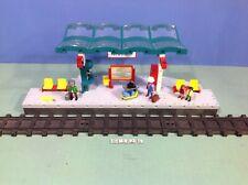 (O4382.5) playmobil Grand quai de gare ref 4382 bte cplt 4010 4011 4016 4017
