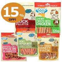 Good Boy Pawsley & Co Pigs in Blankets, Tender Beef, Chicken 320g - 15% OFF SALE