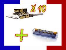 10 carnets de longue feuille à rouler SMOKING SMK + Rouleuse cigarette Elements