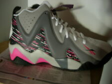Reebok Kamikaze II, Carbon Shark Grey Pink, Men Us 10.5, Breast Cancer Awareness
