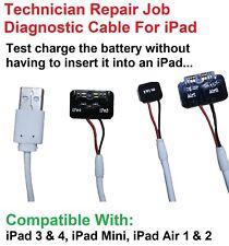 USB Direct Battery Charging Cable Adapter iPad Repair Job Diagnostics Test Tool