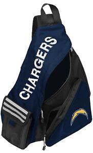 NFL Los Angeles Chargers Leadoff Slingbag Sling School Gym Travel Backpack New