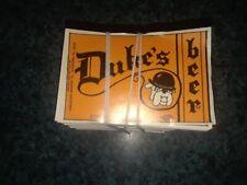 Unused Pack Of 1000 Duke'S Beer Labels Vtg 1960'S Nos Bottle Labels Lot