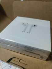 Apple Airpods 2nd Gen Wireless Bluetooth In-Ear Headphones-White-Excellent