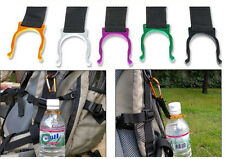 Water Bottle Holder Clip Carabiner Hook Buckle Key Chain For Camping Hiking