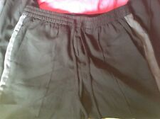 BNWT 100% Auth Calvin Klein, Ladies Black Thin Trousers. S RRP £120.00