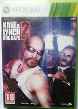 KANE & LYNCH 2: DOG DAYS. JUEGO PARA XBOX 360. PAL-ESP. NUEVO, PRECINTADO.