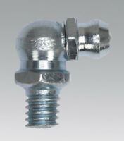 """Sealey GNI15 Grease Nipple 90° 1/8""""BSP Gas Pack of 25"""