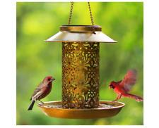 New listing Solar Bird Feeder Hanging Bird Feeders for Outside Solar Bird Houses with Hook.