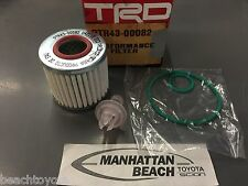 High Performance TRD OIL FILTER TACOMA,SCION TC, CAMRY RAV4 V6 4CL(PTR43-00082)