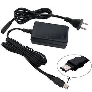 New AC Power Adapter Charger For Sony HandyCam DCR-TRV510 DCR-TRV480 DCR-TRV460