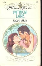 Harlequin Presents: Fated Affair by Patricia Lake (1983, Paperback)