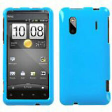 For HTC EVO Design 4G Hero S Hard Protector Case Snap on Phone Cover Turquoise