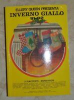 ELLERY QUEEN PRESENTA INVERNO GIALLO 91 92 - 21 RACCONTI MONDADORI 1991  SR