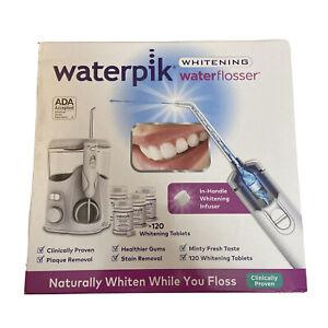 Waterpik Whitening Water Flosser Combo Pack 10 Pressure Settings - 120 Tablets