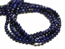 Fil 39cm 165pc env - Perles de Pierre - Lapis Lazuli Boules 2mm