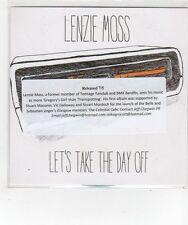 (FL668) Lenzie Moss, Let's Take The Day Off - 2014 DJ CD