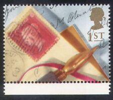 GB 1992 Saluti/RICORDI/Lettera/PENNA E TIMBRO-On-TIMBRO/S-On-S 1v (b6283t)