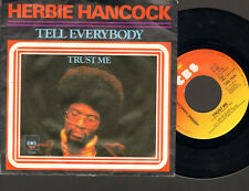 "HERBIE HANCOCK Tell Everybody SINGLE 7"" Trust Me 1979"