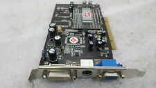 ATI 1024-RC25-H2-BD Radeon 9250 128MB DVI VGA PCI Video Card TESTED