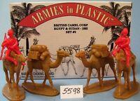 Armies in Plastic 5598 -Egypt & Sudan - British Camel Corps - 1882 - Set #3 kit